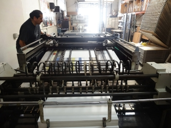 Automatic screen printing Press