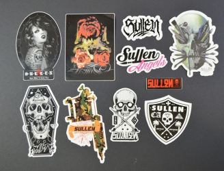 Sullen-Sticker-Pack-Collcetion