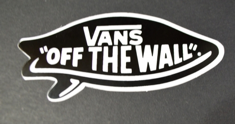 Vans-Sticker-OF THE WALL